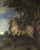 Антонис ван Дейк. Конный портрет Карла I