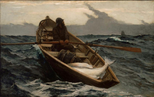 Winslow Homer. The fog is coming