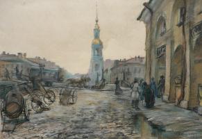 Виктор Романович Семыкин. Коломенский рынок