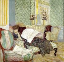 Jean Edouard Vuillard. Misia on canape