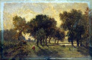 Теодор Руссо. Пейзаж