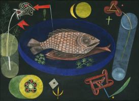 Paul Klee. Around fish