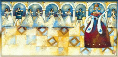 Алида Массари. Королева-мать и прекрасные принцессы