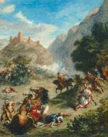 Эжен Делакруа. Стычки арабов в горах