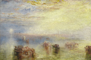 Joseph Mallord William Turner. Approach to Venice