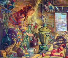 Natalia Gennadyevna Tour. Grandma's attic