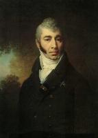Владимир Лукич Боровиковский. Портрет неизвестного с командорским крестом