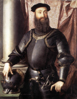Аньоло Бронзино. Портрет Стефано IV Колонна