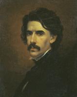 Fedor Petrovich Chumakov. A self-portrait.