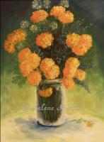 Elena Sh. Желтые цветы