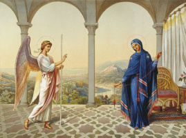 Grigory Grigorievich Gagarin. The Annunciation Of The Blessed Virgin.