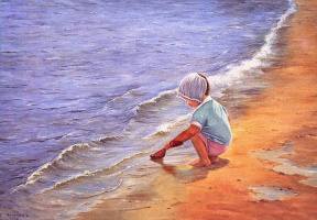 Ора Маринюк. На пляже