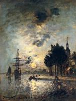 Ян Бартолд Йонгкинд. Лунный свет