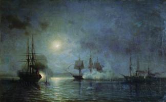 "Alexey Petrovich Bogolyubov. Battle frigate ""flora"""