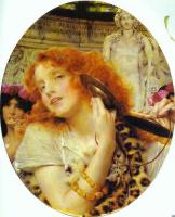 Лоуренс Альма-Тадема. Девушка с рыжими волосами