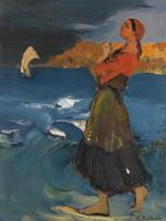 Филипп Андреевич Малявин. На берегу моря