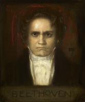 Франц фон Штук. Портрет Людвига ван Бетховена. 1905