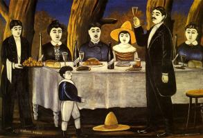 Нико Пиросмани (Пиросманашвили). Семейный праздник