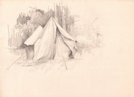 Arkady Pavlovich Laptev. Tent