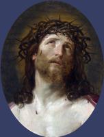 Гвидо Рени. Голова Христа в терновом венце