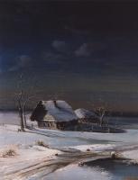 Алексей Кондратьевич Саврасов. Зимний пейзаж