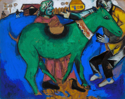 Марк Захарович Шагал. Зеленый осел
