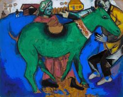 Marc Chagall. Green donkey