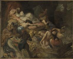 Eugene Delacroix. Death Of Sardanapalus