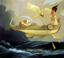 Майкл Паркес. Летающая лодка