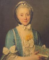 Жозеф Сиффред Дюплесси. Мадам Ленуар, мать Александра Ленуара, основателя Музея французских памятников.
