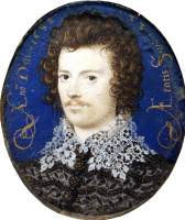 Nicholas Hilliard. Portrait of a young man, probably Robert Devereux, second Earl of Essex
