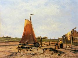 Ян Куккук. Корабли на суше