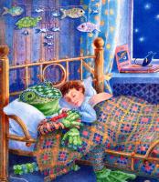 Терил Евремер. Сон лягушки