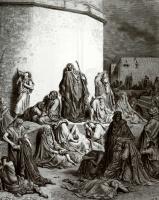 Поль Гюстав Доре. Иллюстрация к Библии: плач о Иерусалиме