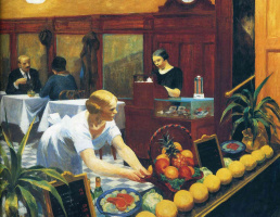 Edward Hopper. Tables for ladies