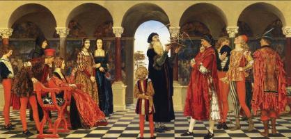 Элеонора Фортескье-Бриккдал. Предвестник (Леонардо да Винчи при дворе Лодовико Сфорца)