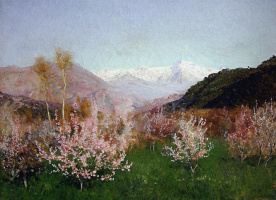 Исаак Ильич Левитан. Весна в Италии