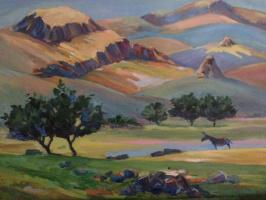 Пейзаж ,,Егекнадзорская гора,,
