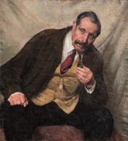 Владимир Михайлович Михайловский. Портрет пожилого человека