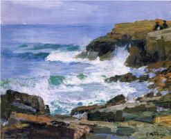 Эдвард Генри Поттаст. Глядя в море