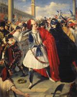 Михаил Иванович Скотти. На карнавале в Венеции. 1839