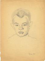 Неизвестный  художник. Портрет мальчика