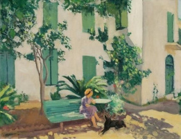 Albert Marquet. The rest of the house in the summer