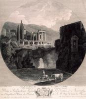 Георг Абрахам Хаккерт. Храм Сибиллы в Тиволи