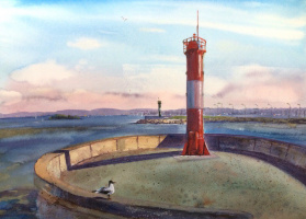 Olga Volkova. Baltic beacon.