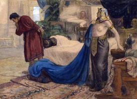 Иван Горюшкин-Сорокопудов. Иосиф и жена Пентефрия. 1900-е