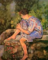 Сюзанна Валадон. Сидящая молодая женщина