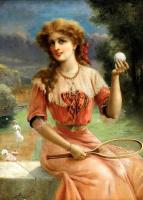 Эмиль Вернон. Теннисный мяч.