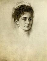 Фридрих Август фон Каульбах. Императрица Александра Федоровна. Этюд к картине