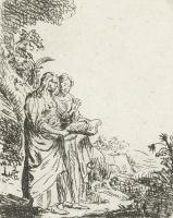 Ян Ливенс. Две женщины с книгой